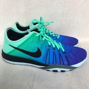 Nike Free TR 6 Blue 7.5